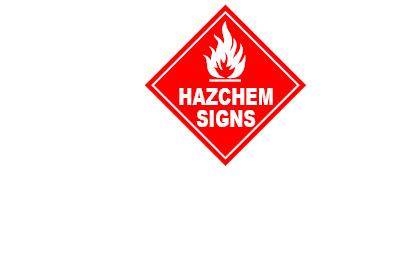 WHS Signage - Hazchem