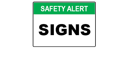 WHS Signage - Safety Alerts