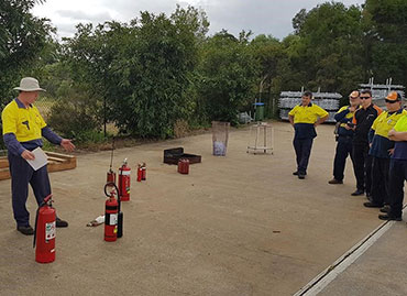 Sitemax Fire Training in Queensland